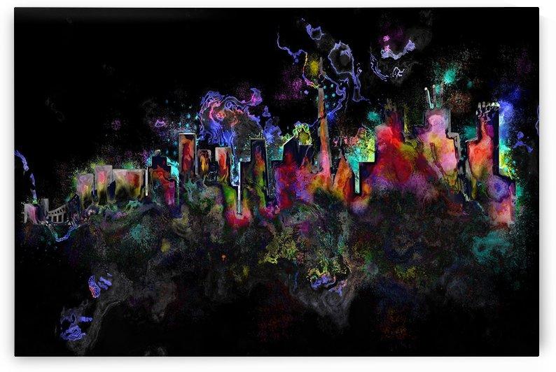 grunge paint splatter splash ink by Shamudy