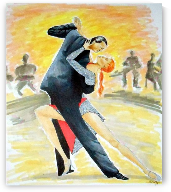 Tango Tangle by Jayne Somogy