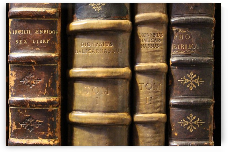 books old books old library by Shamudy