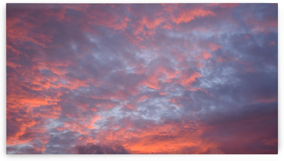 Sunset Cloud Photography by Katherine Lindsey Photography