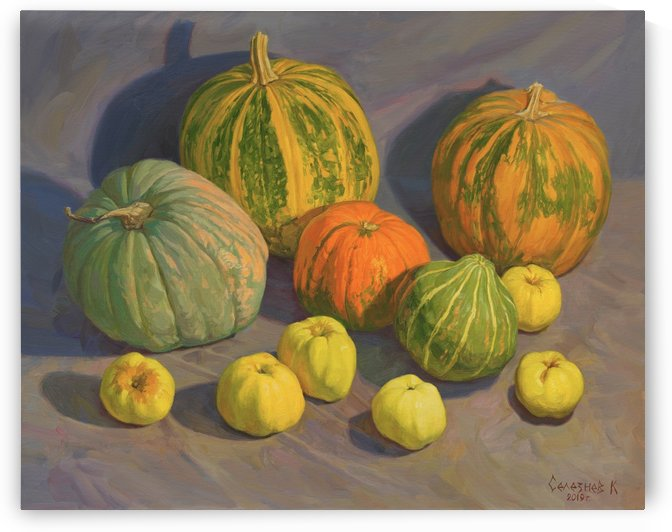 Pumpkins_And_Apples by Egalitarian Art Gallery