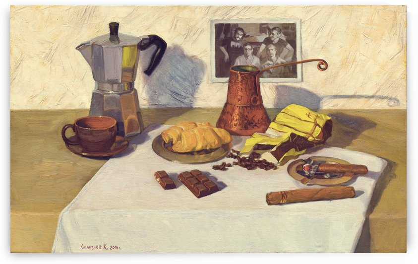 Still_Life_With_Coffee_50x80 by Egalitarian Art Gallery