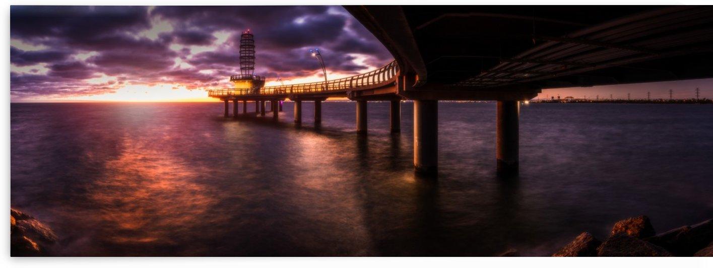 Brant Street Pier by Rajmy Sayavong