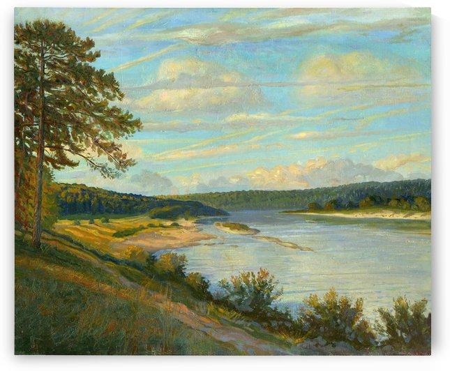Okah_River_In_August by Egalitarian Art Gallery
