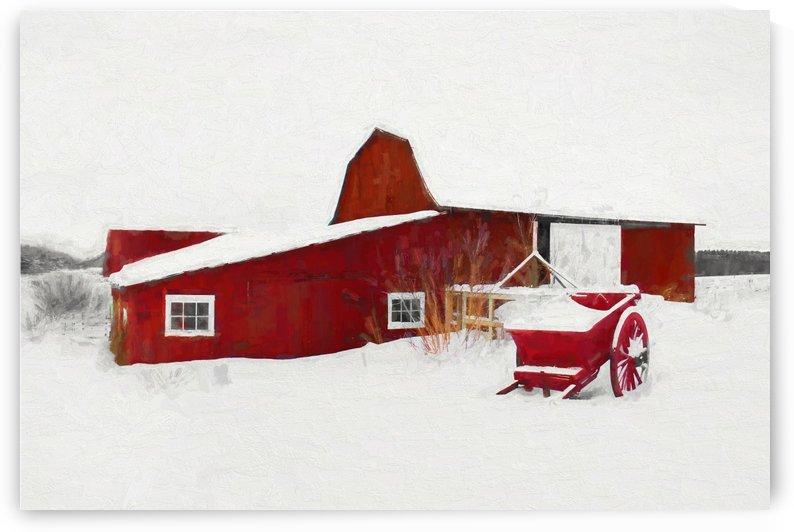 Grange neige by dbriyul