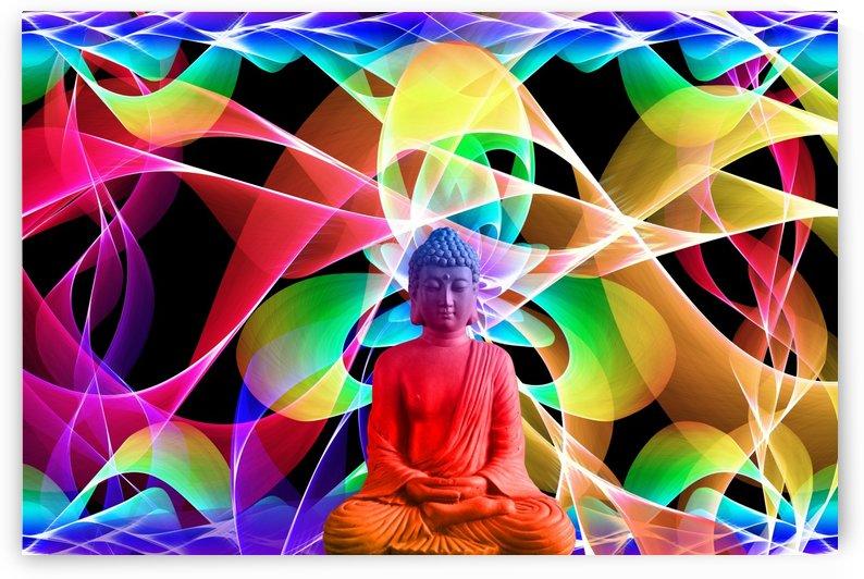 Yoga Buddha by Alex Pell