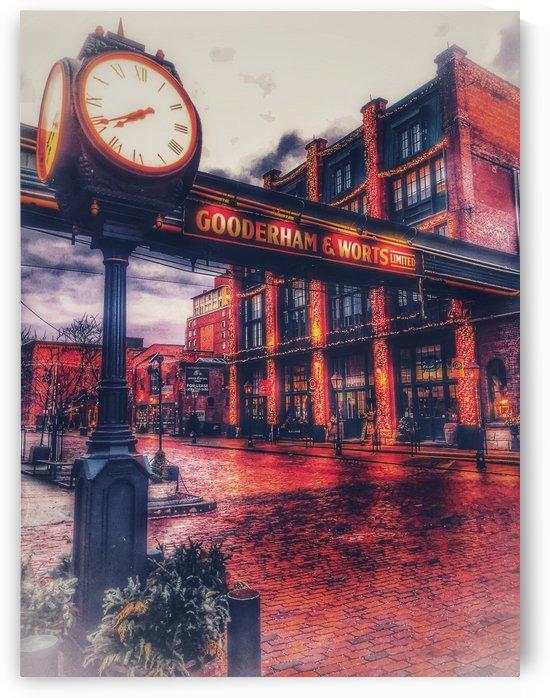 Distillery Clock  by UrbanStreetBeats