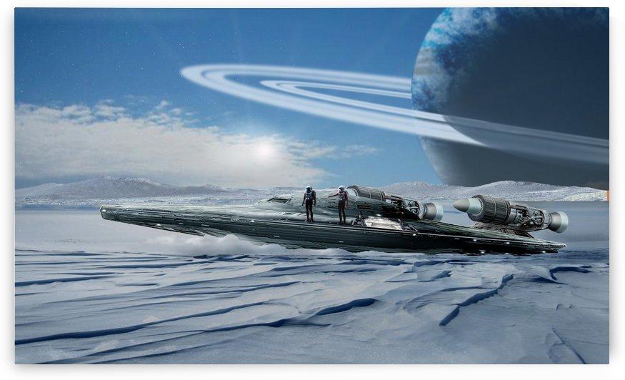 ICE Ship by Bill Wright