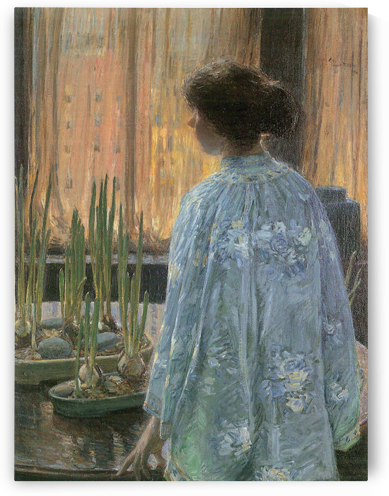The table garden by Hassam by Hassam