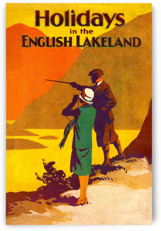 Vintage Travel - Holidays in the English Lakelands by Culturio