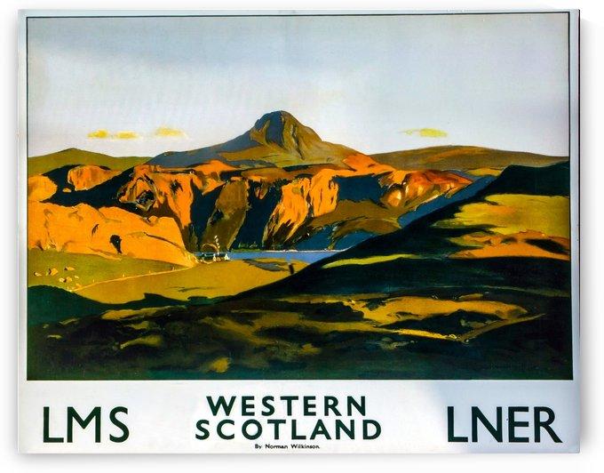 Vintage Travel - Western Scotland by Culturio