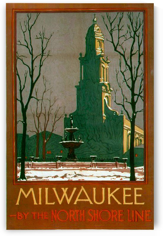 Vintage Travel - Milwaukee by Culturio