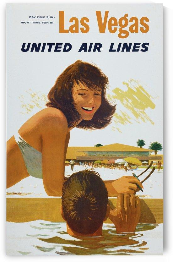 Vintage Travel - Las Vegas by Culturio
