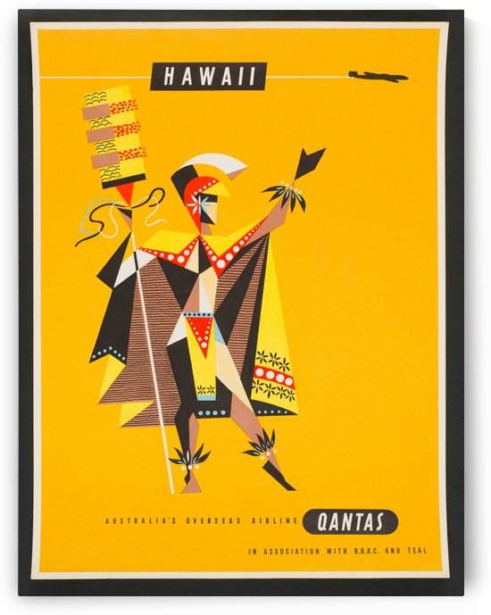 Hawaii - Vintage Travel  by Culturio