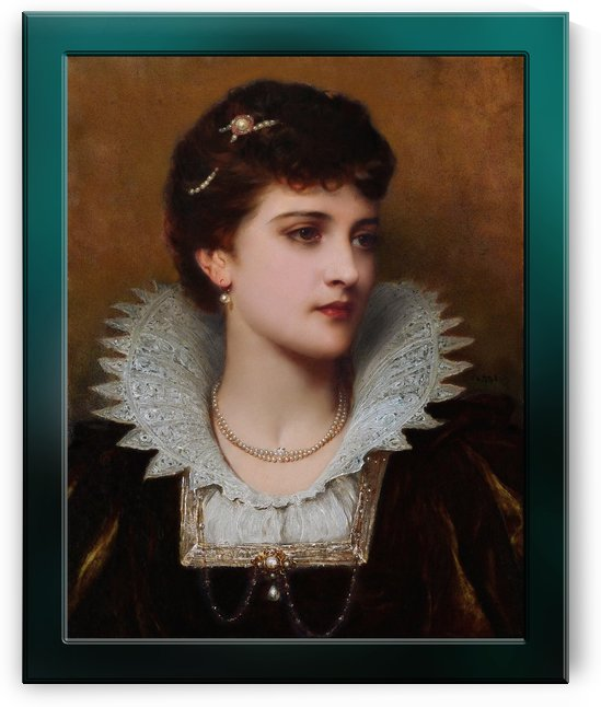 Amy Robsart by Thomas-Francis Dicksee Old Masters Fine Art Reproduction by xzendor7