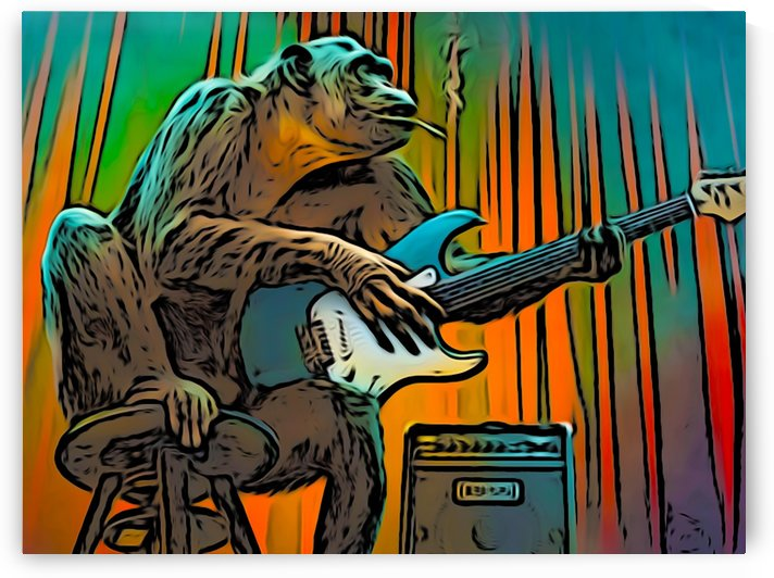 Guitar Monkey by W Scott