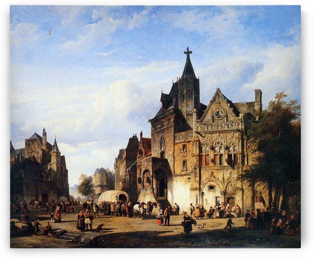 Cityview by Cornelis Springer