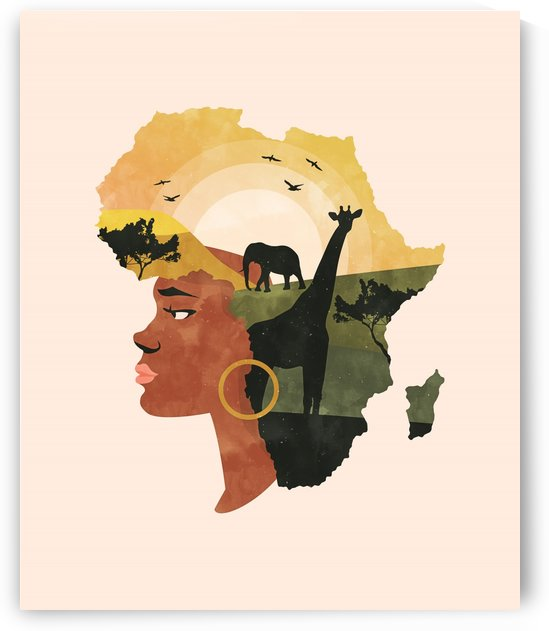 Africa Love by 83 Oranges