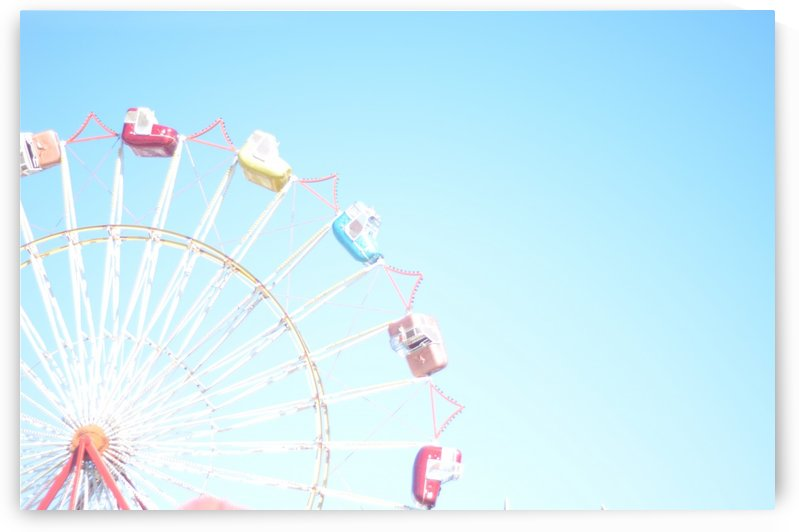 Ferris Wheel Against the Sky by Victoria Sager