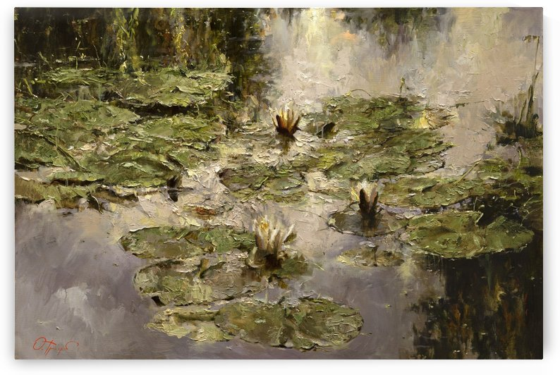 Old_pond by Egalitarian Art Gallery
