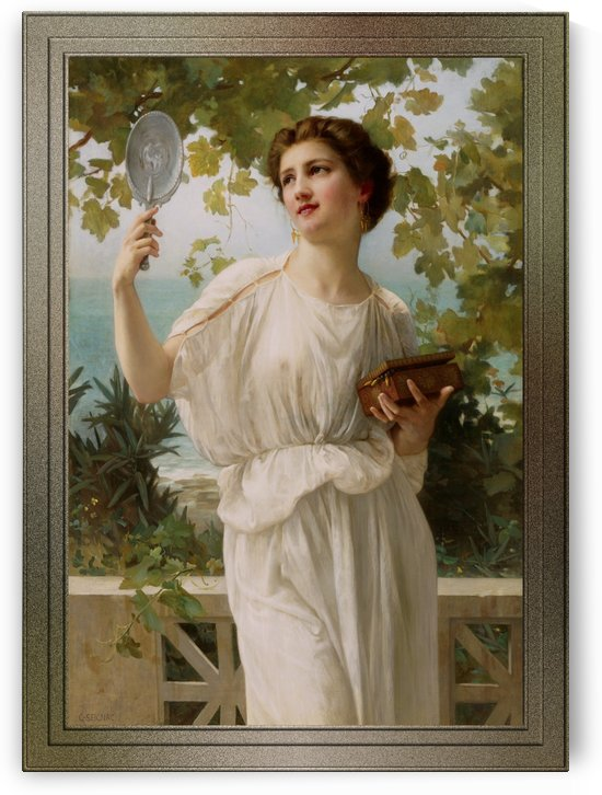 Admiring Beauty by Guillaume Seignac Fine Art Reproduction by xzendor7