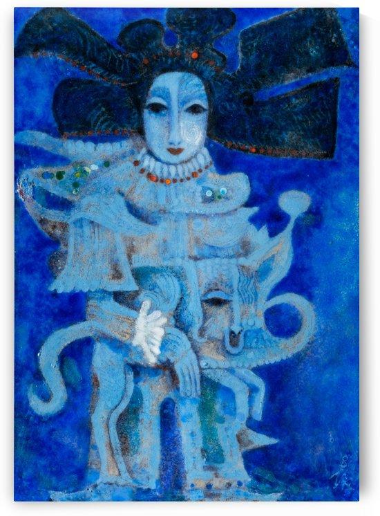 Cerulean Geisha by Zdenek Krejci