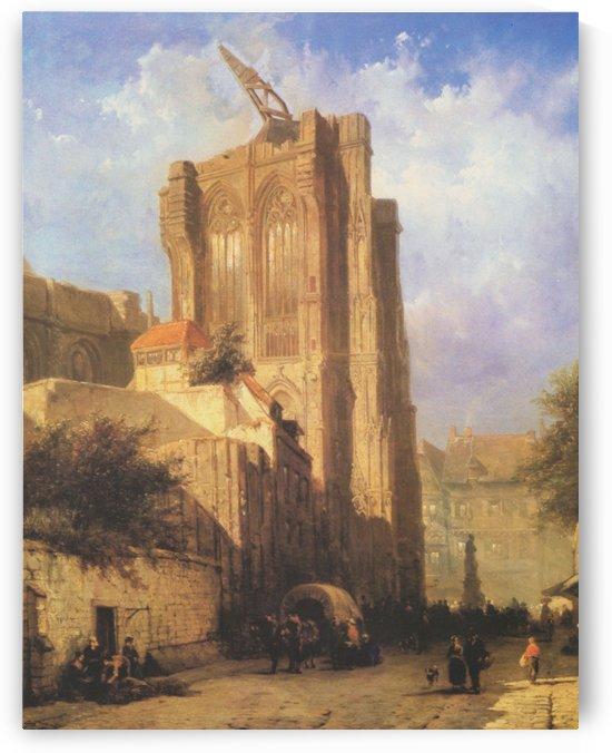 Koln, Domturme by Cornelis Springer