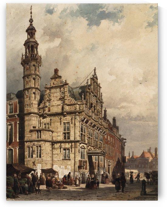 Teylers Museum by Cornelis Springer