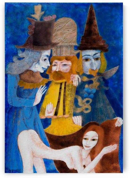 Murmuring Mentors by Zdenek Krejci
