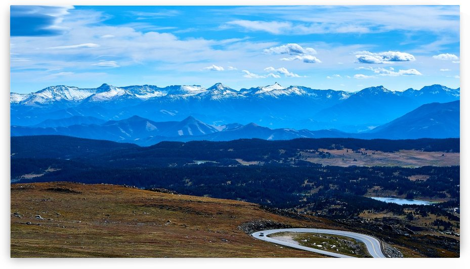 Beartooth Mountains by Russell Carter