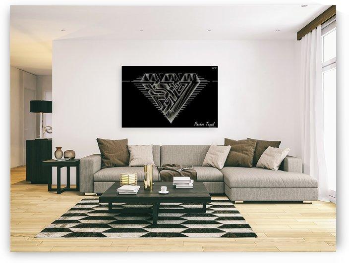 monogram diamond aaa  FOR DISPLAY ONLY  room1 by pinchos tewel