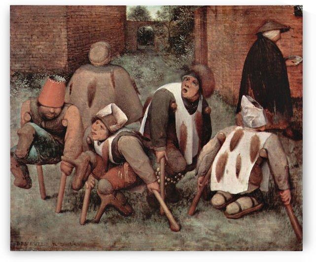 Cripples by Pieter Bruegel by Pieter Bruegel