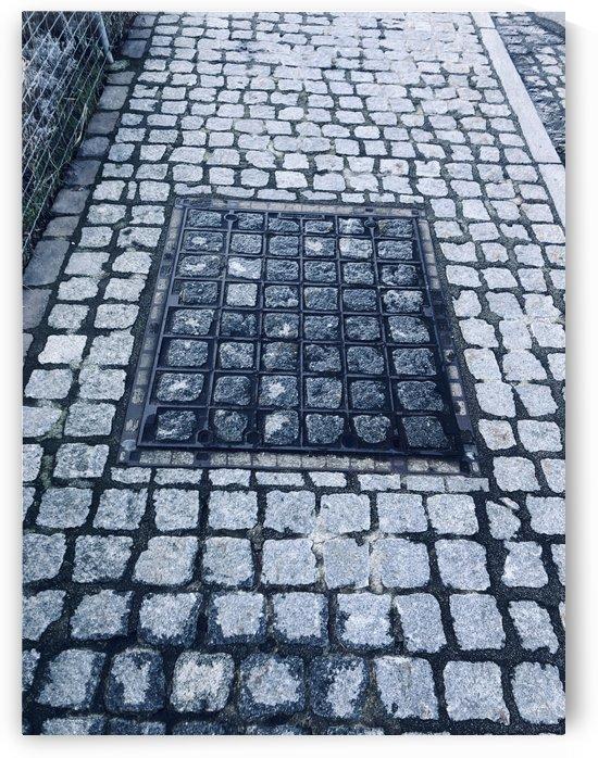 Swiss Sidewalk with Stone Patterns by Swiss Art by Patrick Kobler