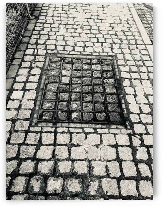 Swiss Sidewalk with Stone Patterns by Swiss Art by Patrick Kobler
