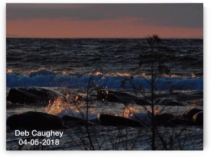 Georgian Bay after Summer Storm by Debbie Caughey