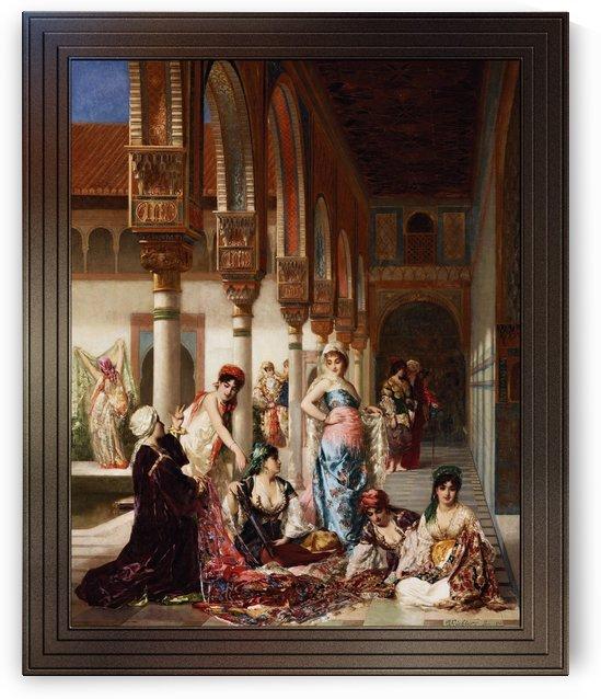 The Silk Market by Edouard Frederic Wilhelm Richter by xzendor7
