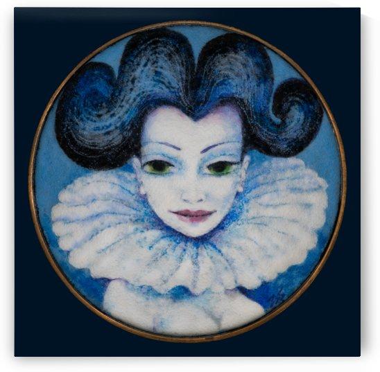 Featherly Blue by Zdenek Krejci