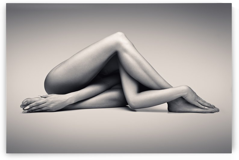 Nude woman fine art 13 by Johan Swanepoel