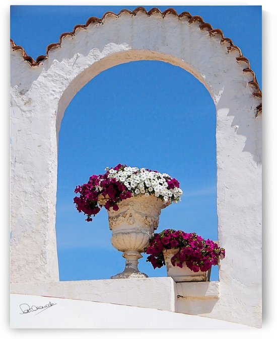 Mediterranean Summer by Shadow and Form