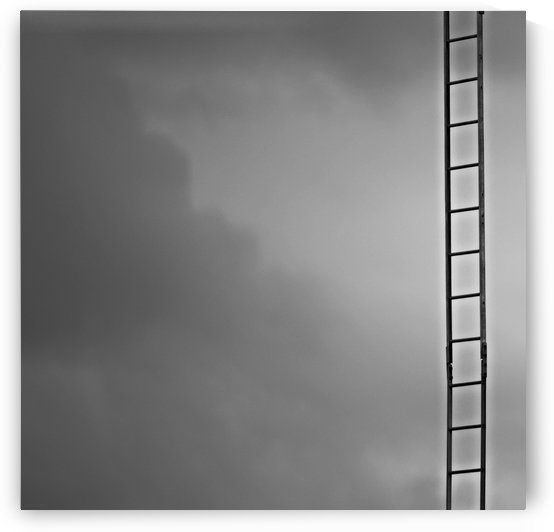 Ladder to Nowhere by H.Hart Photography
