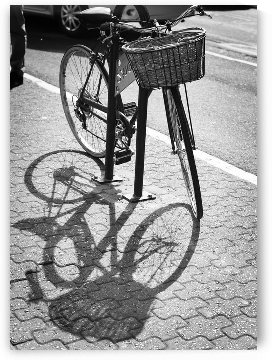 Bicycle Shadow by H.Hart Photography