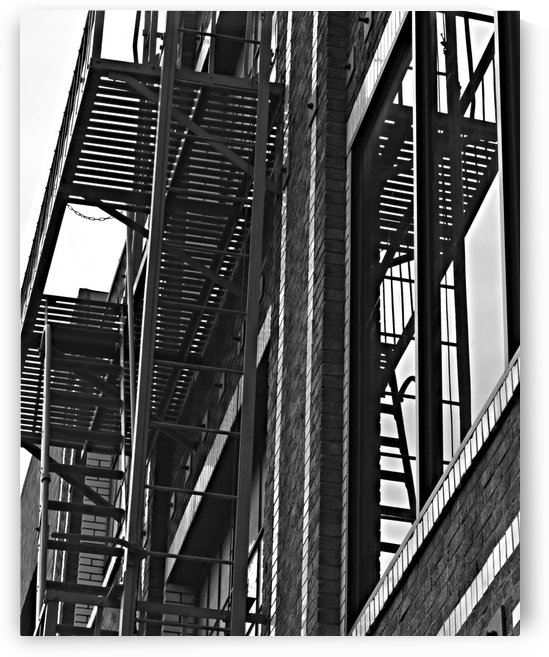 Fire Escapes by H.Hart Photography