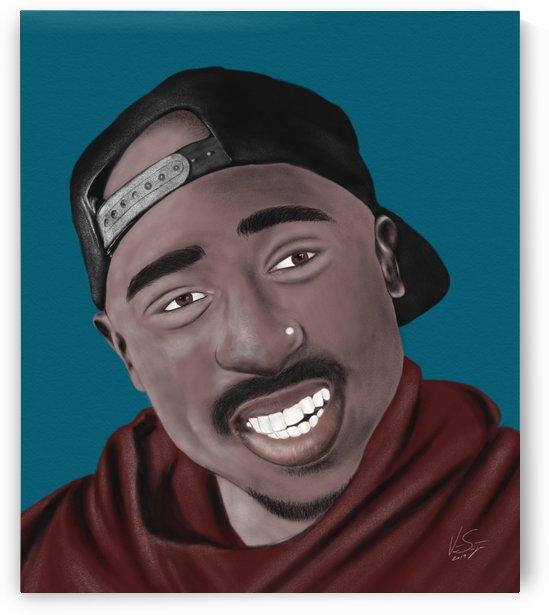 Tupac Shakur  by  vincentsantiago