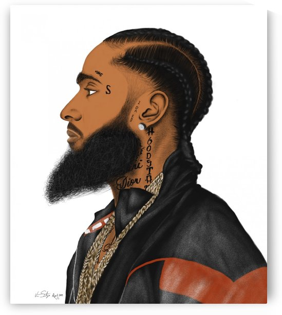 Nipsey Hussle  by  .