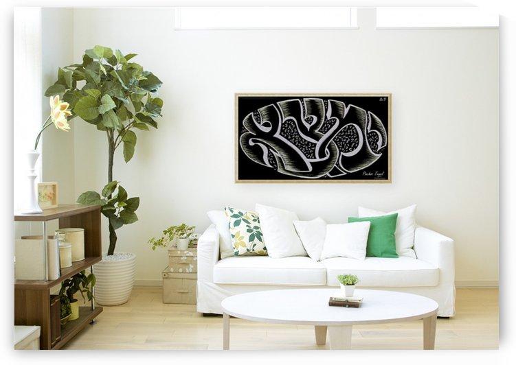 monogram art  YIMTZA   -FOR DISPLAY ONLY by pinchos tewel