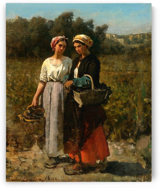 Peasants Returning From The Fields_OSG by One Simple Gallery