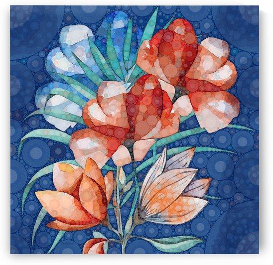 Floral Abstract  by Gabriella David