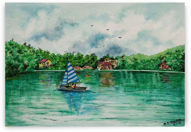 Naini lake_DKS by D K Saxena