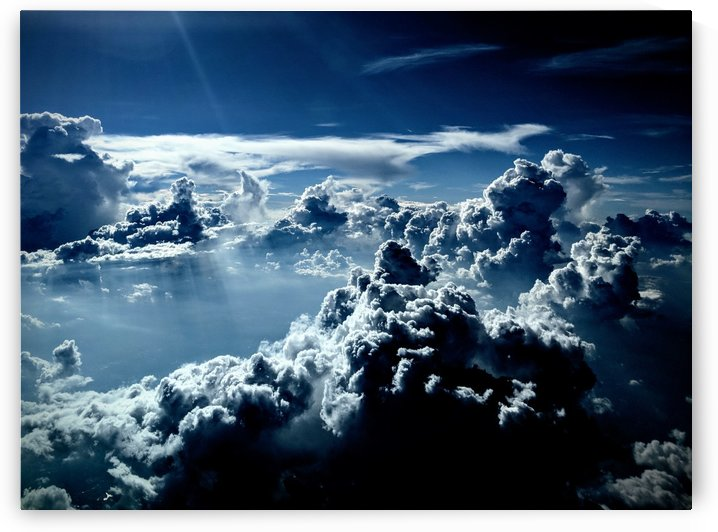 Dramatic cloudscape by Michael Geyer