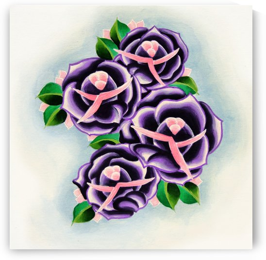 Roses by Adam Gillespie Artwork